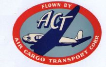 Collectible Airline luggage label Air Cargo Transport  #560